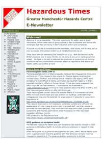 Newsletter September 2016